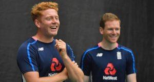 Jonny Bairstow and Eoin Morgan
