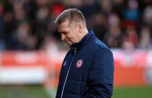 Brentford coach Dean Smith